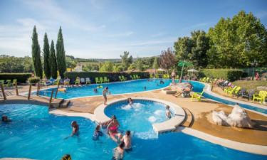 Vandpark og bademuligheder