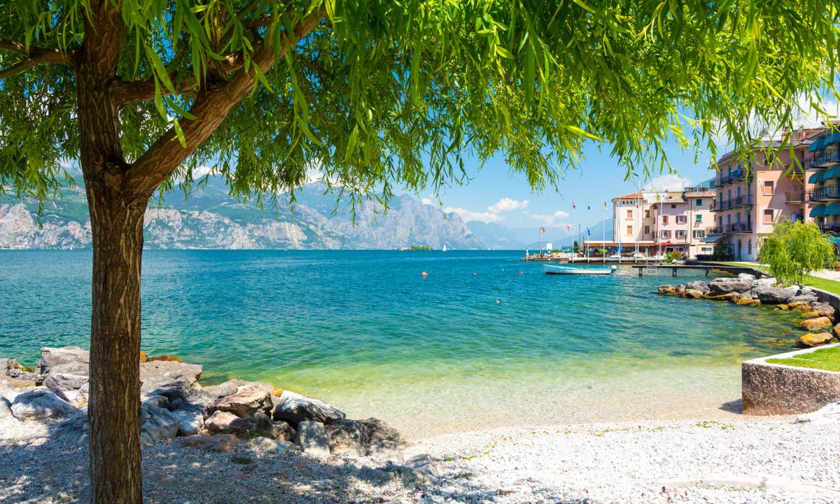 Strand - Skønt badested ved Gardasøen