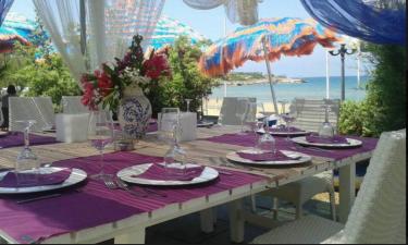 Restaurant Camping Turistico San Nicola in Apulien