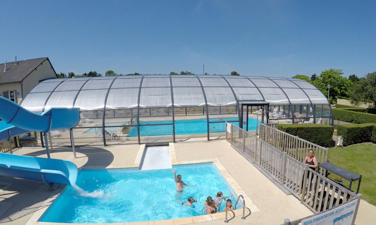 Vandrutsjebane og indendørs pool