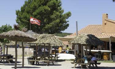 Restaurant Camping La Cote des Roses in Languedoc