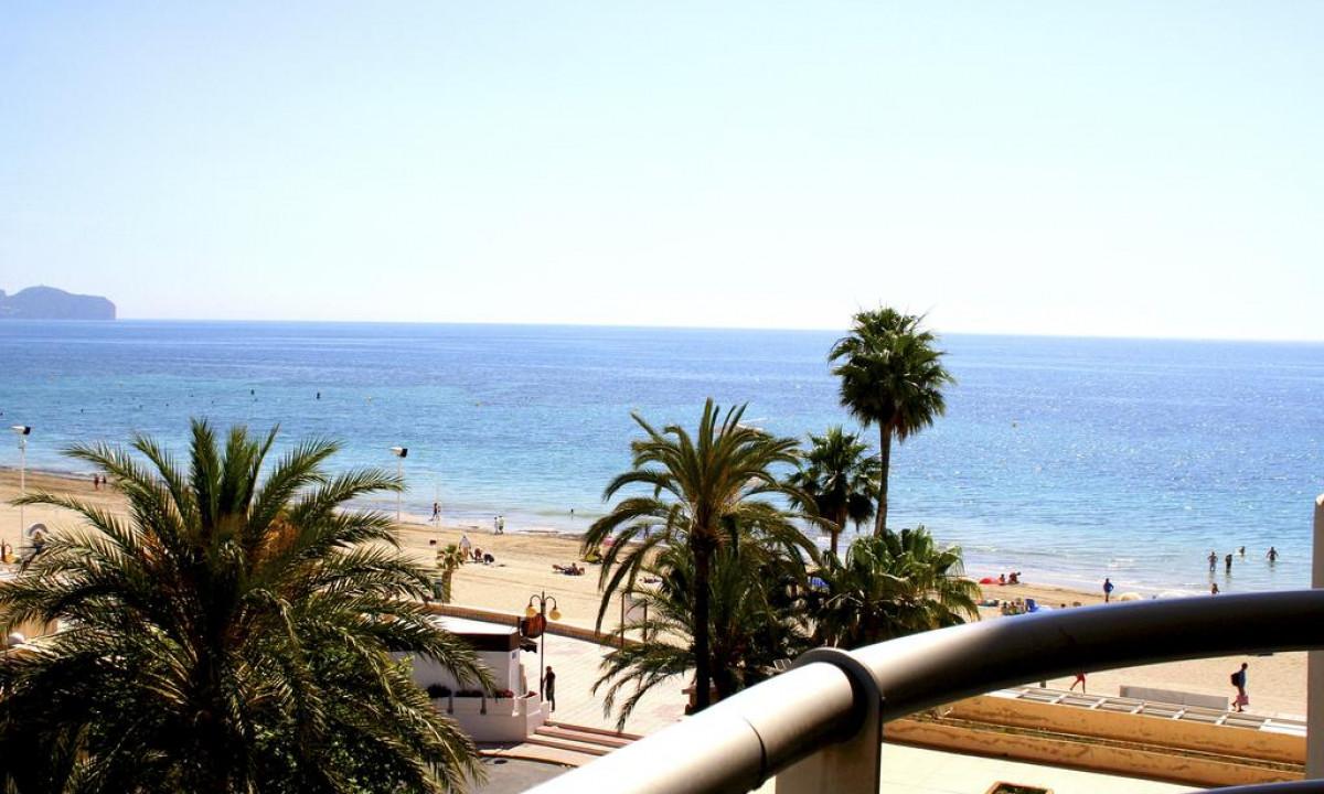 Udsigt til Calpe Levante strand