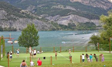 Faciliteter på Camping Le Lac
