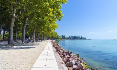Balatonsøen varierende landskab