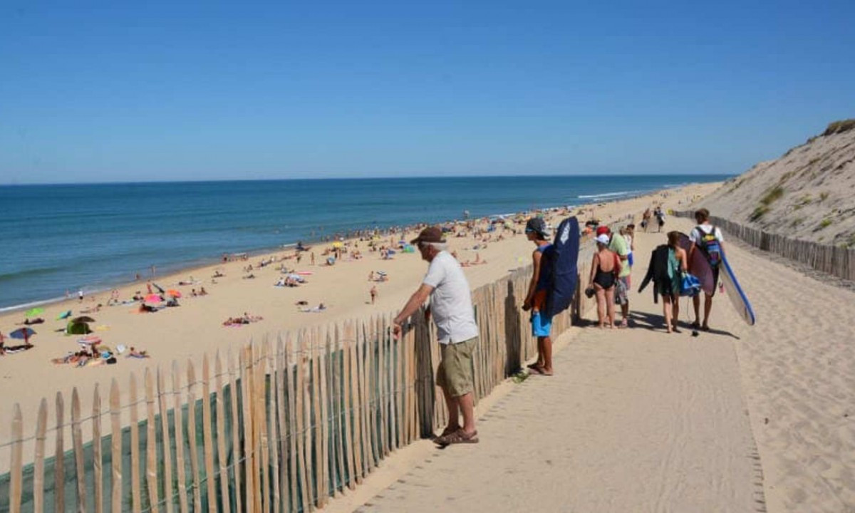 Strand ved Atlanterhavet