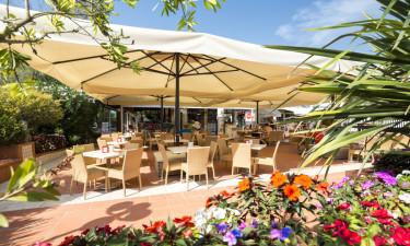 Italienske restauranter og hyggelig bar