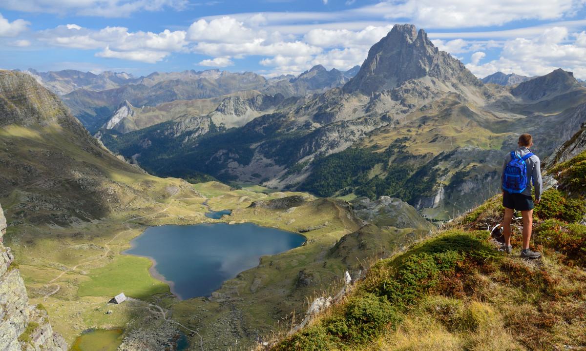 Vandring i Pyrenæerne i Frankrig