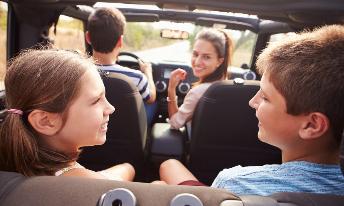 Kør-selv - Familie på vej til badeland i Belgien