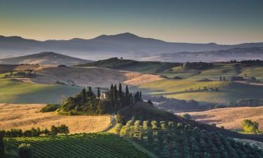 Bo i en ferielejlighed i Toscana