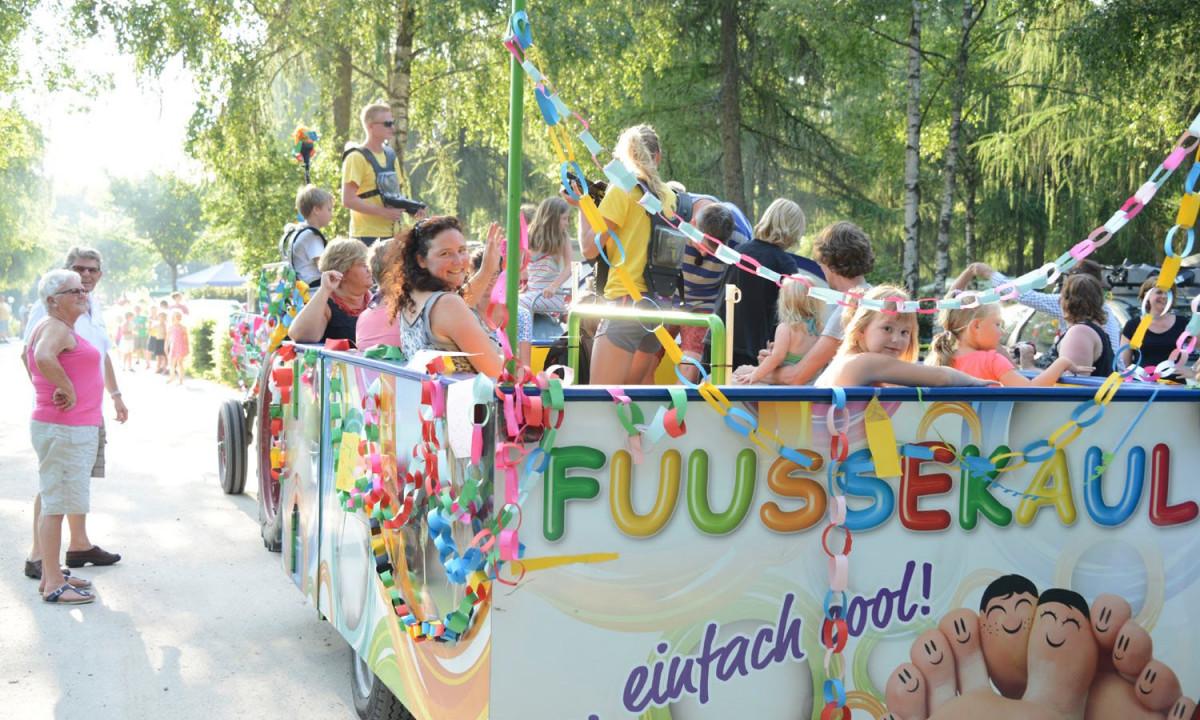 Camping Fuussekaul underholdning