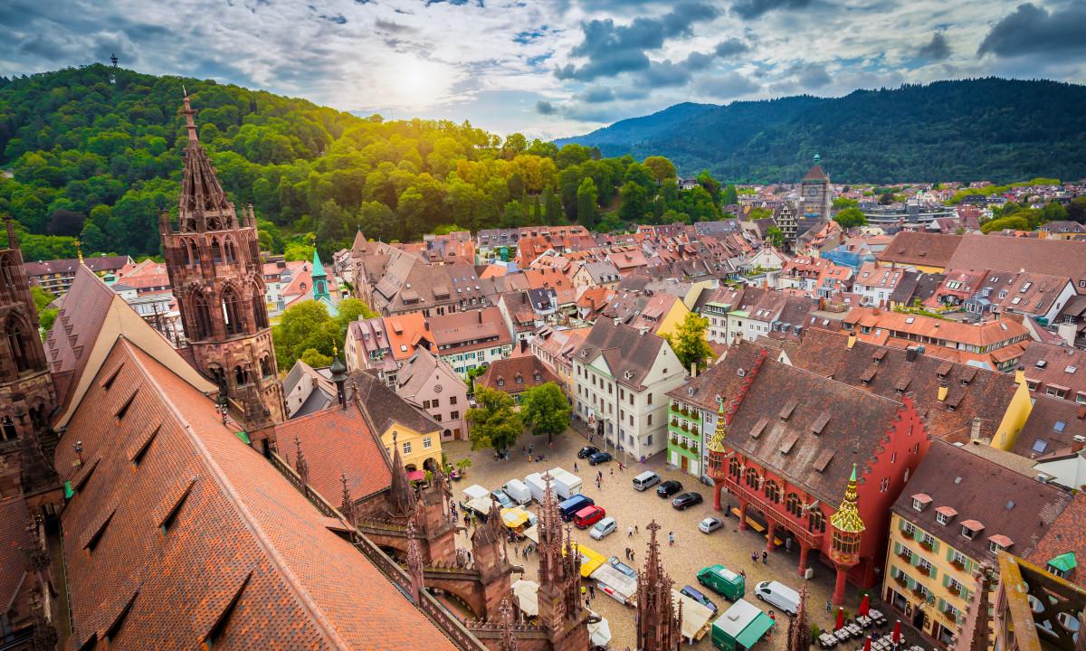 Freiburg by i Schwarzwald