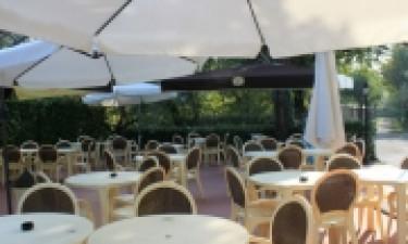 Restaurant Camping Piantelle am Gardasee