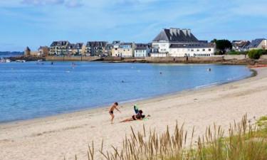 Camping Belle Plage in der Bretagne