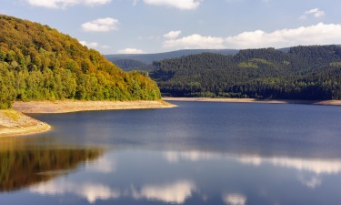 Smukt landskab i Tyskland