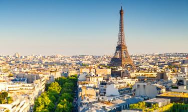 Eiffeltaarnet i Paris