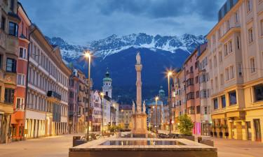 Innsbruck by i Tyrol, Oestrig