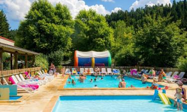 Mange aktiviteter og poolkompleks