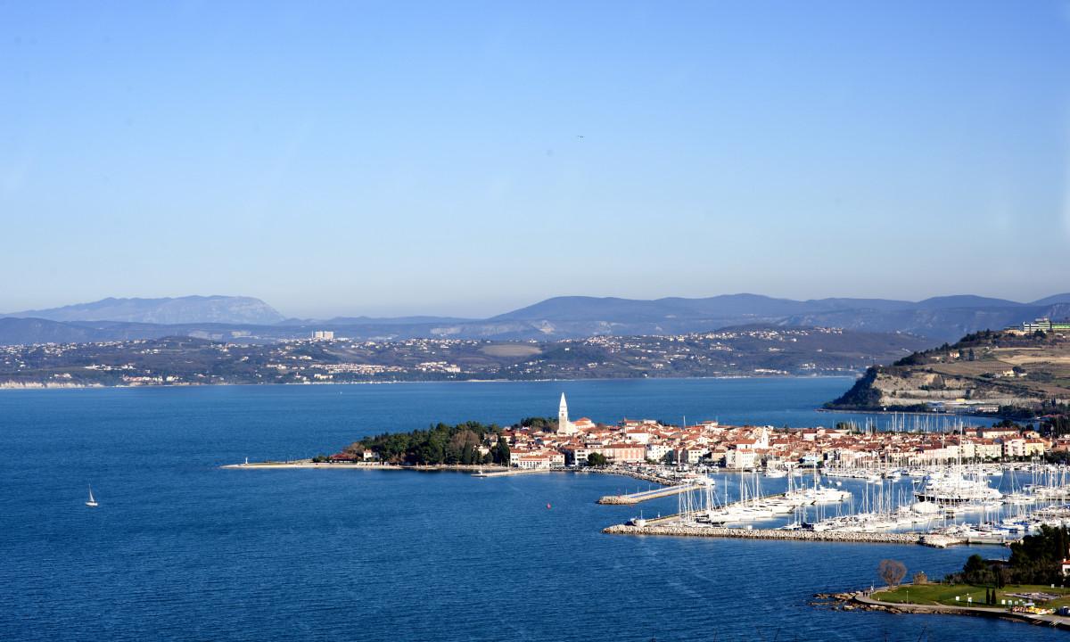 Izola - Lille kystby ved Adriaterhavet