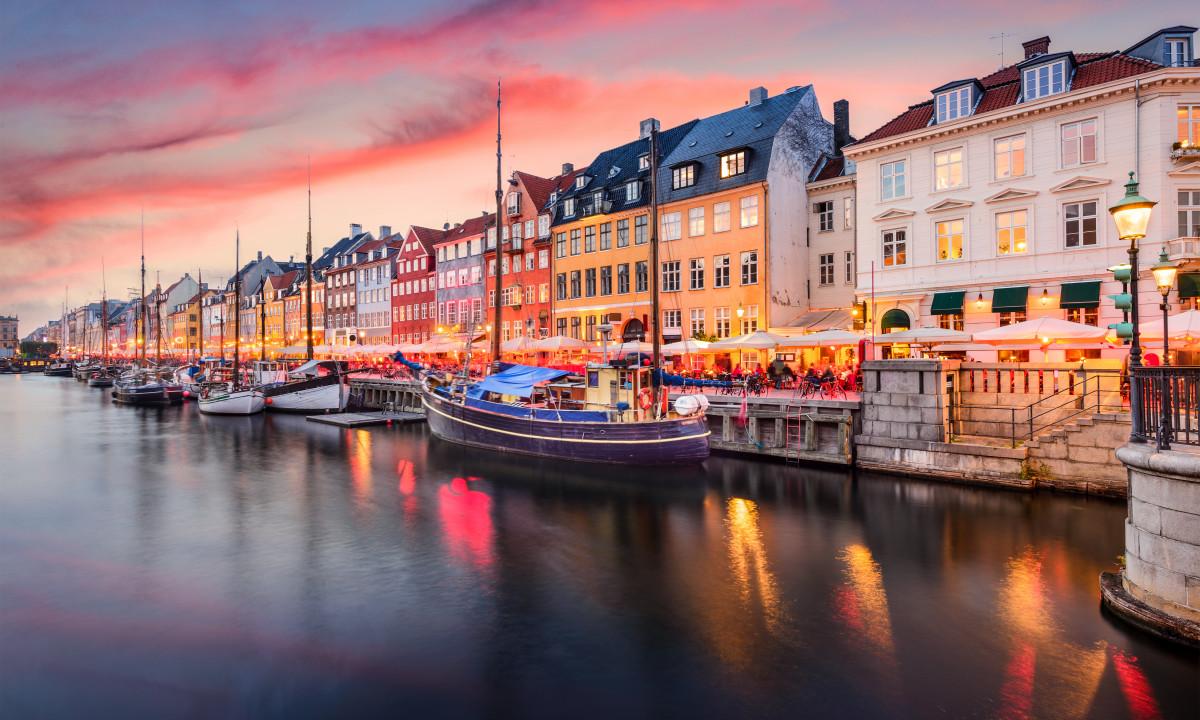 Nyhavn i Koebenhavn