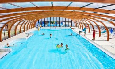 Pool Domaine de Litteau in der Normandie