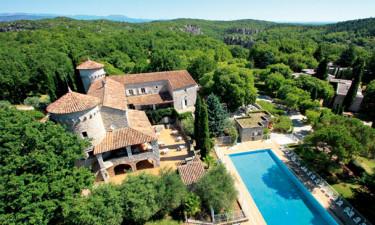 Château med pool
