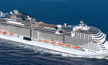MSC Grandiosa- Et nyt krydstogtskib med det hele