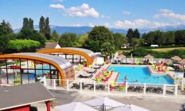 Camping Le Coin Tranquille in den französischen Alpen
