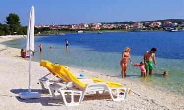 En del af Istrien og smukke Kroatien