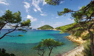 Toscana - Udsigt over havet