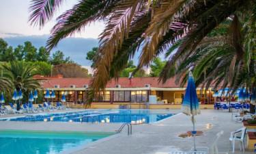 Pool Camping Villaggio Orizzonte in der Toskana