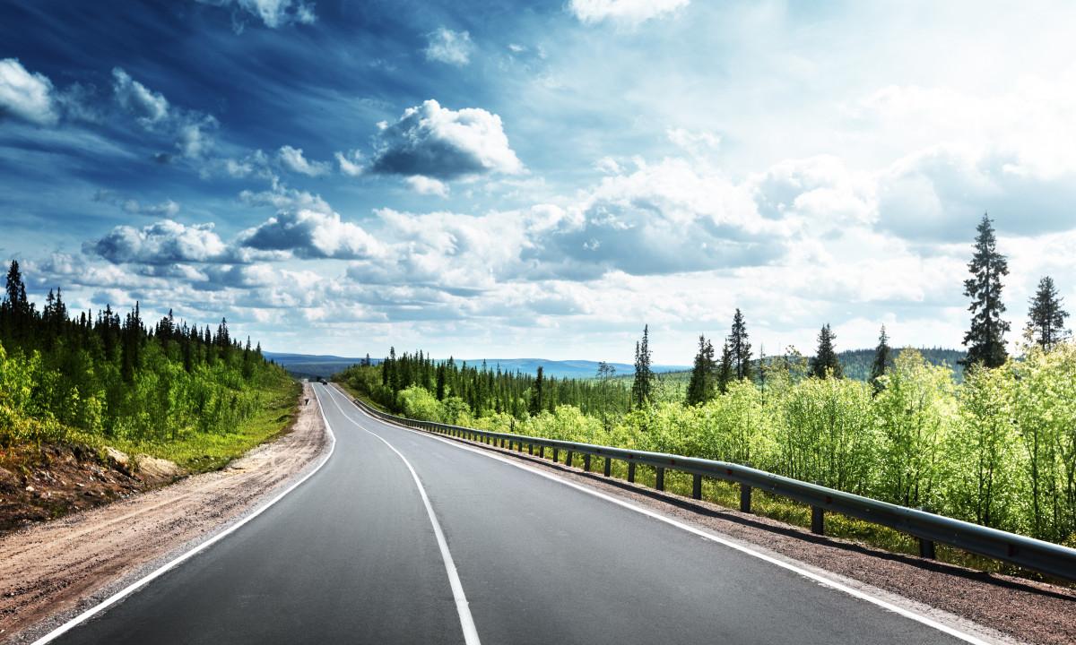 Motorvej - Smukt udsyn på bilferien