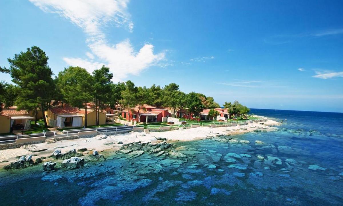 Feriestedet Istrian Villas lige ude til havet