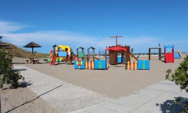 Ekstra faciliteter på camping Rosolina Mare Club