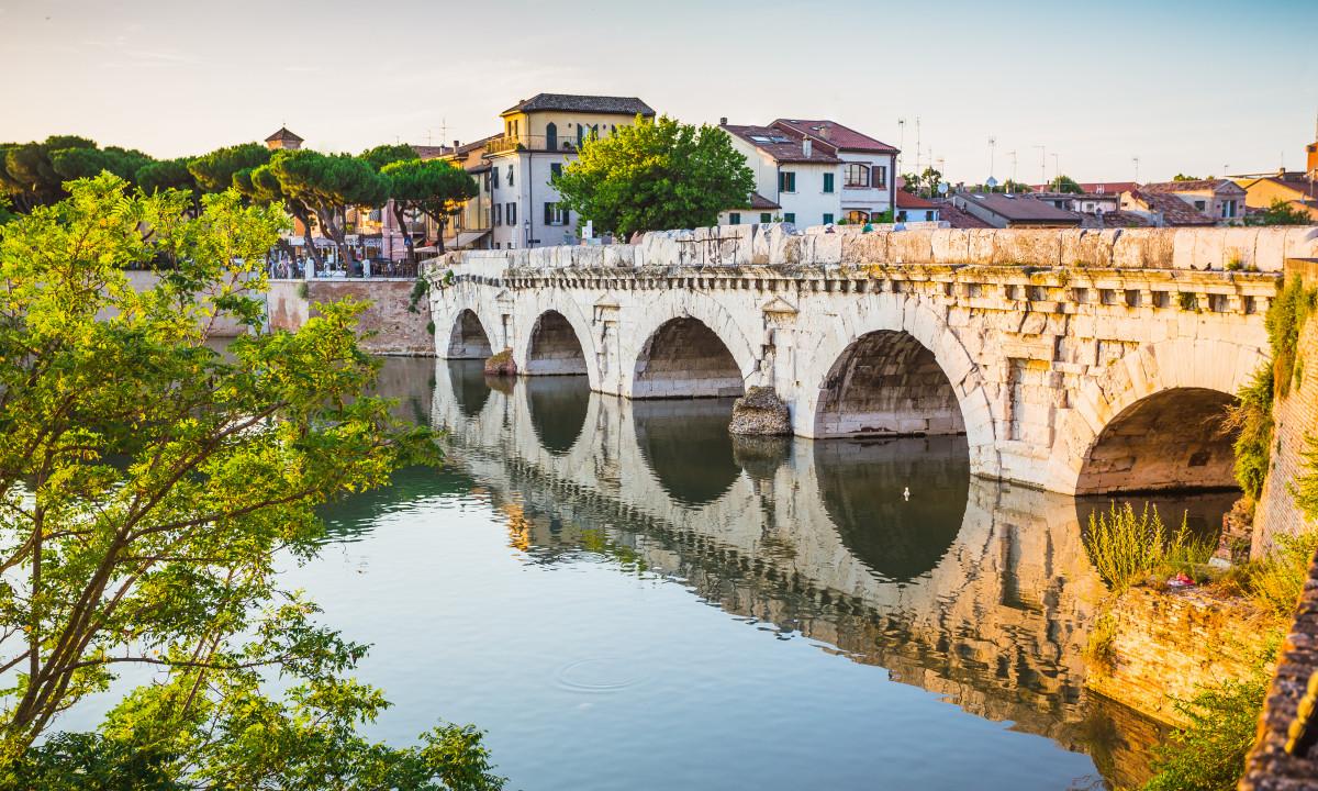 Ponte di Tiberio - Bro i Rimini
