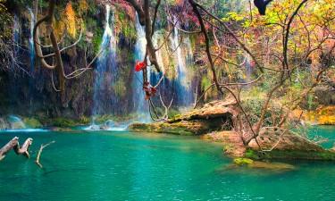 Smukt landskab i Tyrkiet