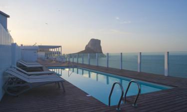 Hotel Bahia Calpe - Udsigt udover det sædvanlige