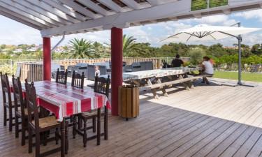 Restaurant Camping Erreka in Süd-West Frankreich