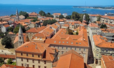Luftfoto af Zadar by