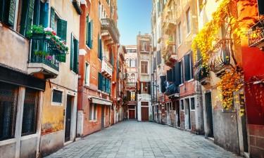 Mulighed for indkøb tæt ved og shopping i Venedig