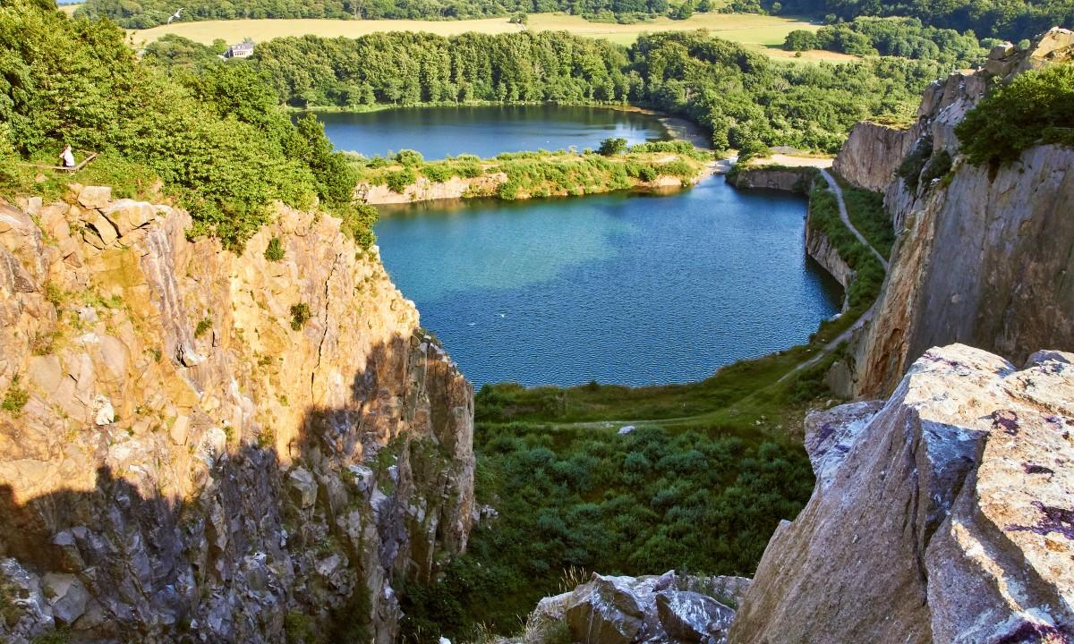 Smuk natur paa Bornholm
