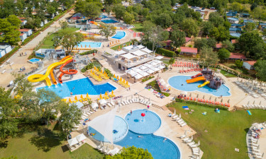 Camping Lanterna ved Istrien