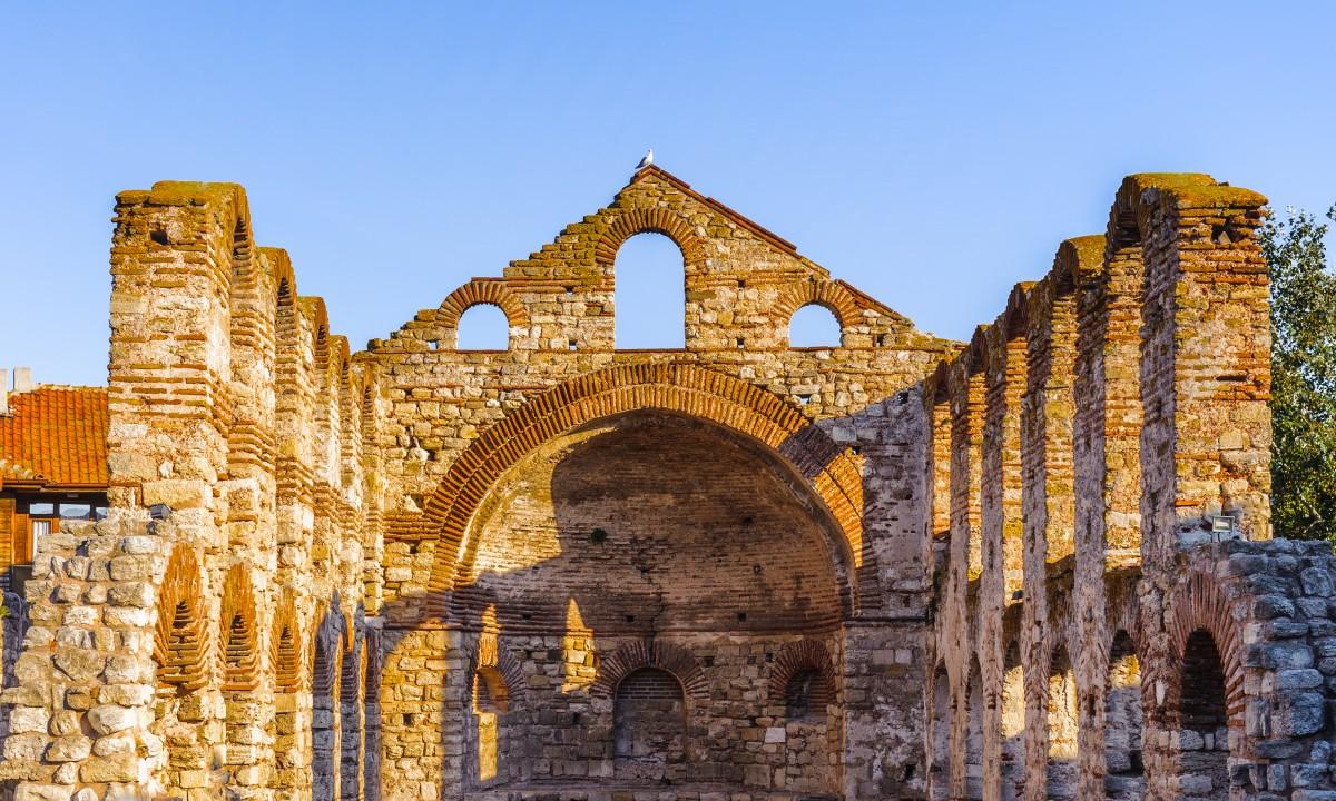 Faestning og ruin i Bulgarien