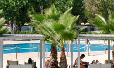 Pool und Strände