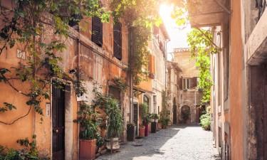 Smal gade i Trastevere