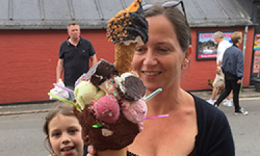 Har du smagt Bornholms STØRSTE is?