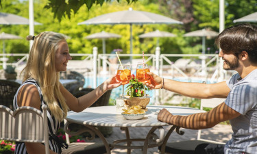 Italienske klassikere i feriestedets restaurant