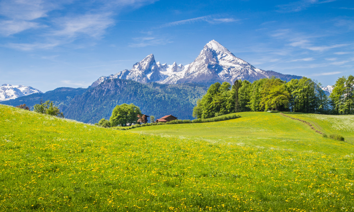 Naturen i Sydtyskland