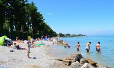 Gardasøen - Strandbred ved søen