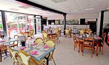 Restaurant Camping Golfe de Saint-Tropez an der Côte d'Azur