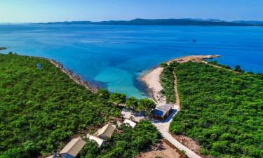 Camping Ugljan in Dalmatien